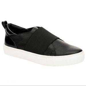 Steve Madden Edison Slip On Sneakers Size 8 Black